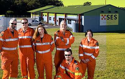 State Emergency Service's (SES) new regional headquarters for Illawarra/Southern NSW .